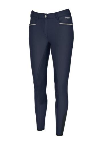 NEW Pikeur Leslie McCrown Full Seat Breeches Navy Sizes 10-16