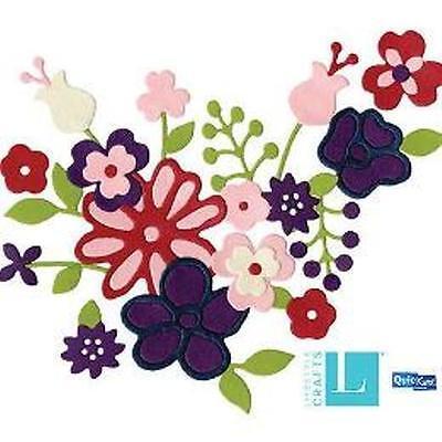 """Lifestyle Crafts/Quickutz """"DT0315  Revolution Die """"Bouquet"""" One Cutting Die NEW"""