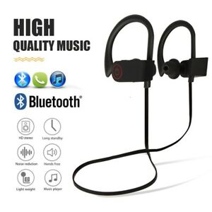 reputable site a71fe 79951 Details about Wireless Bluetooth Headset Sport Stereo Headphone Earphone  for Samsung iPhone LG