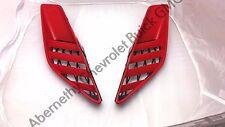 OEM 15-16 Corvette Z06 Torch Red Quarter Panel Air Vent Grille Scoops LH & RH GM
