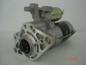 Brand New Starter Motor to fit Mitsubishi Rosa 3.9L Diesel 4D34 1999 to 2007