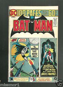 Batman 261 VF 1970's Bronze Age comic book