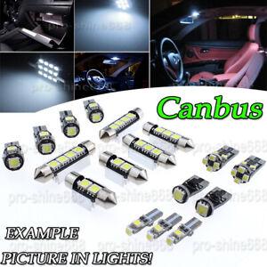 Details about Canbus White LED Interior Package Light Bulb 13pcs KIT Fit VW  Passat CC 09-14 M