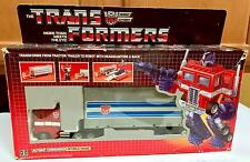 G1 TRANSFORMERS ~ OPTIMUS PRIME ~ 100% AUTHENTIC & COMPLETE ~ HASBRO ~ 1985