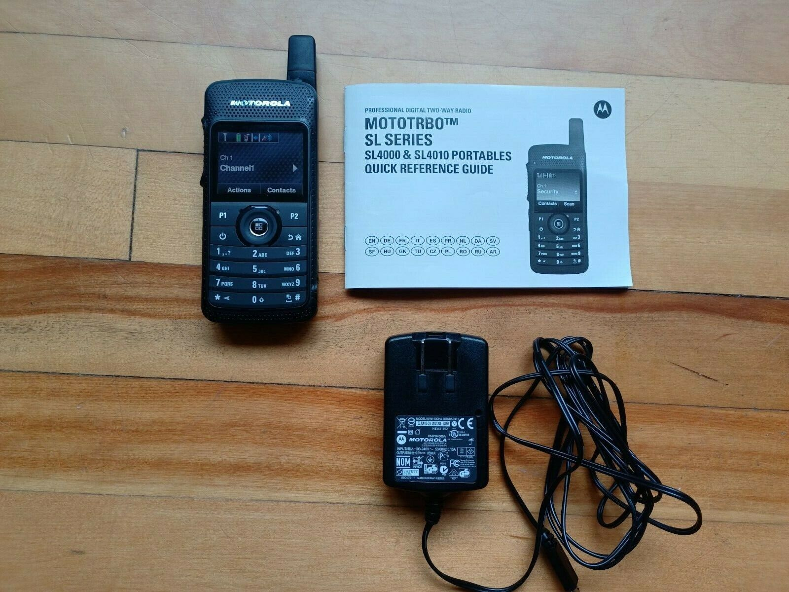 Motorola sl4000, mototrbo, radio, black, SL series, SL4000 new out of box, DMR. Buy it now for 232.04