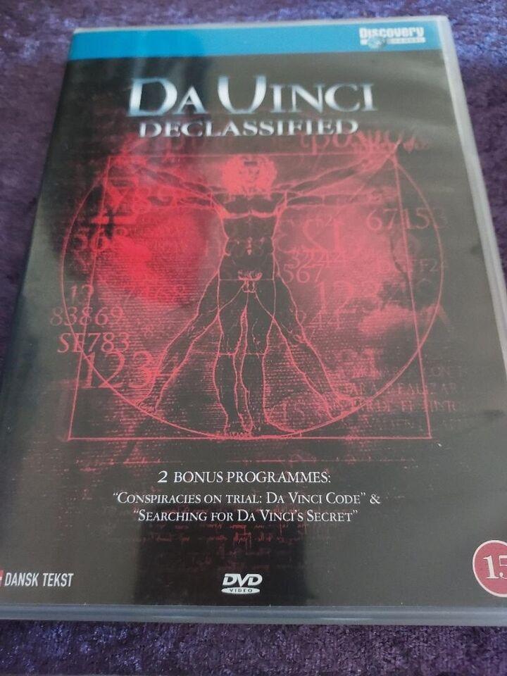 Da Vinci Declassified, DVD, dokumentar