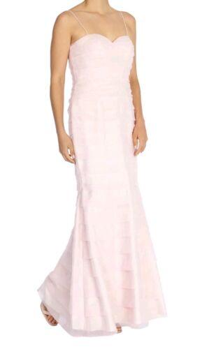 Wedding prom Size Bnwt Stunning coast 8 Dress Maxi Blush tiered Party Minnie wAwP1qUpcx