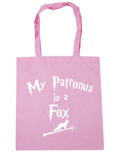 My Patronus Is A Fox Tote Shopping Gym Beach Bag 42cm x38cm 10 litres
