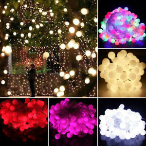 Fairy-LED-String-Lights-Christmas-Round-Ball-Blubs-Wedding-Party-Lamp-10M-20M