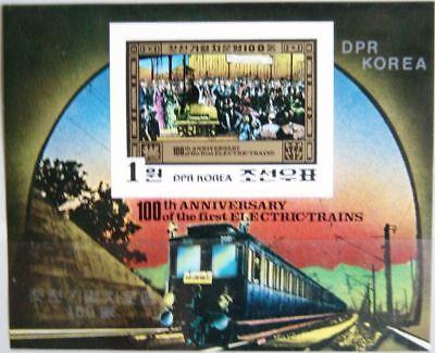 Locomotive In Berlin Zug Mnh Starker Widerstand Gegen Hitze Und Starkes Tragen Korea 1980 Block 87 U S/s 2006 Electric Train Cent Asien