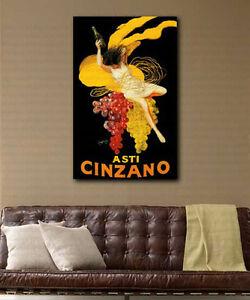 Asti-Cinzano-par-Leonetto-Cappiello-repro-Toile-Art-Poster-Print