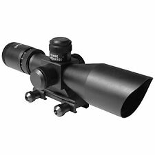 AIM Sports 2.5-10x40 Tactical Compact Dual Illum BDC Mil-Dot - JTSDM251040G-N