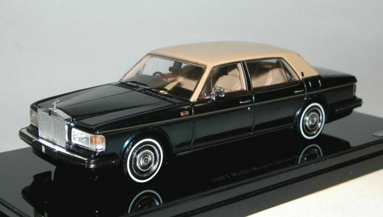 1991 Rolls-Royce Argent Éperon II Modèle Moulé en 1 43 echelle par TSM TSM124371