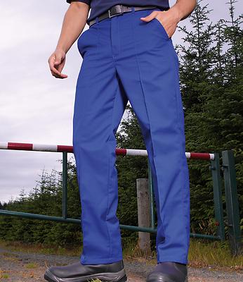 Premier Pr500 Work Trousers - Royal, Sizes 30 To 44 - Premium Quality Best Value Feine Verarbeitung