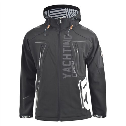 Mens Jacket Geographical Norway Softshell Toublerona Outdoor Sport Coat ,