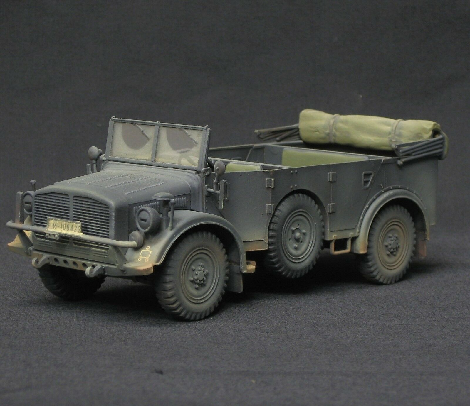 Tamiya horch 4x4 type 1a pro built and painted 1 35 tamiya Academy Italeri