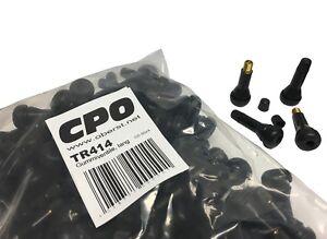 100x TR414 Gummi Ventile / Reifen Ventile auch für Stahlfelgen