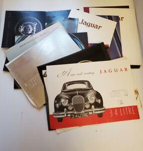 1950s 1970s 1980s 1990s Jaguar brochure lot of 30