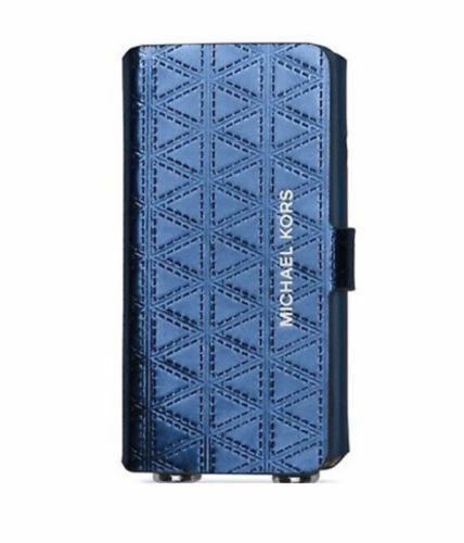 Michael Kors iPhone 7 Folio Case Crossbody Steel Blue for sale online   eBay