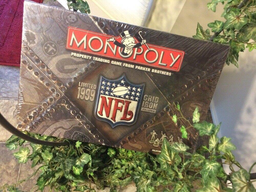 Monopol der national football league nfl new versiegelt collector 's edition
