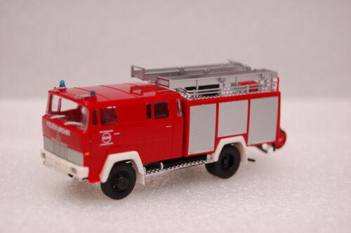 Brekina 95881 Magirus D LF 16 TS Werksfeuerwehr Raschig Ludwigshafen 1:87 NEU