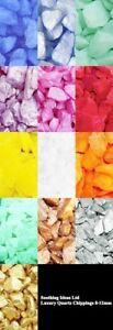 Quartz-Glass-Chippings-8-12mm-Home-Garden-Wedding-Memorial-11-Colours