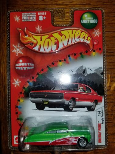 HOT WHEELS Limited Edition Holiday Rods  Purple Passion 4E