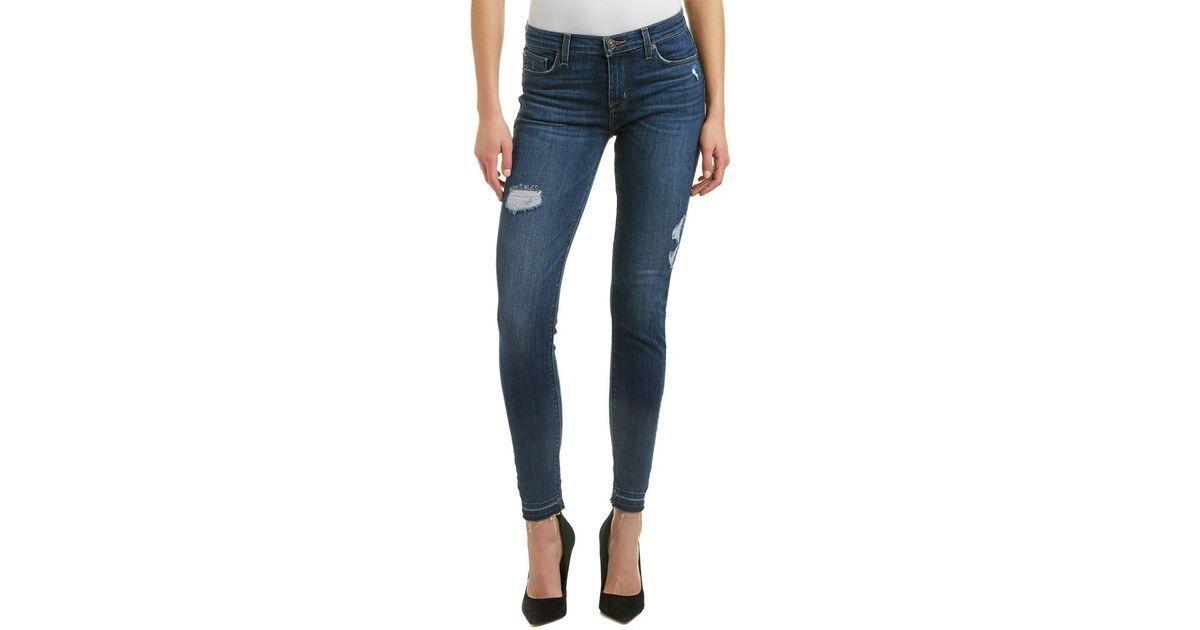 Hudson Natalie crop release hem super skinny Vengeance jeans NWT sz24