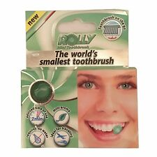 Mini Travel Chewable Toothbrush by Rolly, Mint Flavour 1x box of 6