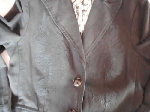 Parasuco Nero Giacca 44 Jeans Tg Col SzxwO1AR