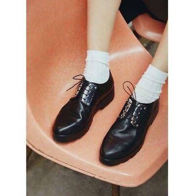 Vagabond Women/'s Aurora Black Leather Platform Oxford Shoes Retail $140 size 10