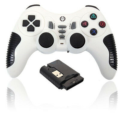 Wireless USB Game Controller Gamepad Joystick Anti-skid for PC Laptop Windows CA