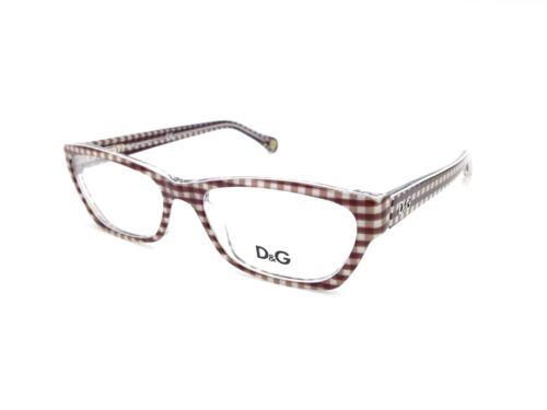 $400 DOLCE /& GABBANA WOMENS BROWN EYEGLASSES FRAMES GLASSES OPTICAL EYE DG 1216