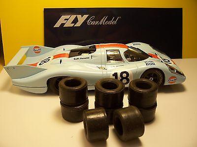 8 pneus AR  urethane Porsche 917  Carrera 1//32
