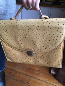 Sacoche France Cartable Rep Sac Style Paris Autruche Made In wwHq8C