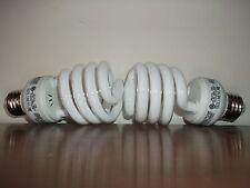 100 WATT CFL GROW LIGHT BULBS - 65OO K SPECTRUM! USES 23 WATTS!  Set of 2