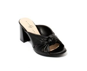 Gibellieri-47a-Black-Perforated-Leather-Open-Toe-Slide-Sandals-39-5-US-9-5