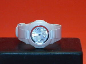 Pre-Owned-Women-s-Pink-Casio-Baby-G-BG-90-Analog-Digital-Watch