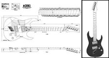 6-String Multiscale Electric Guitar Plan