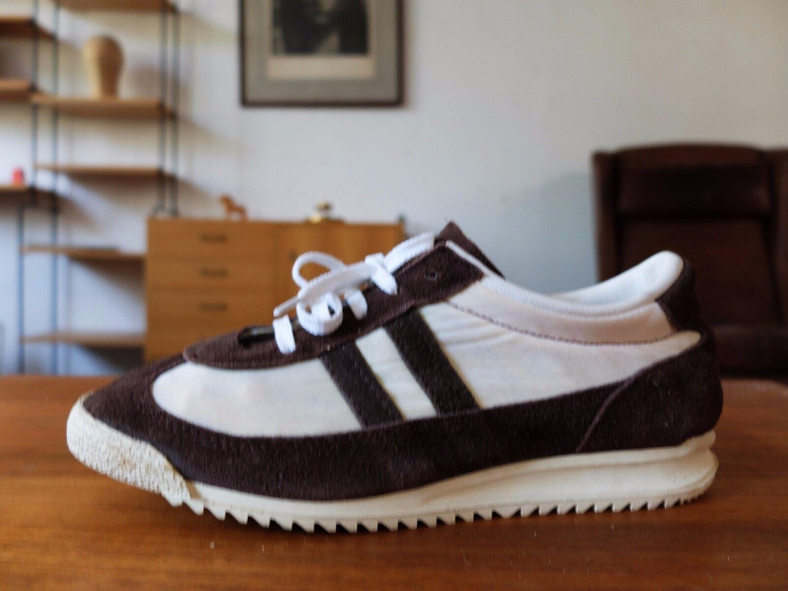GERMINA allround Sneakers Turnschuhe DDR 70er Textil wildleder TRUE VINTAGE 38