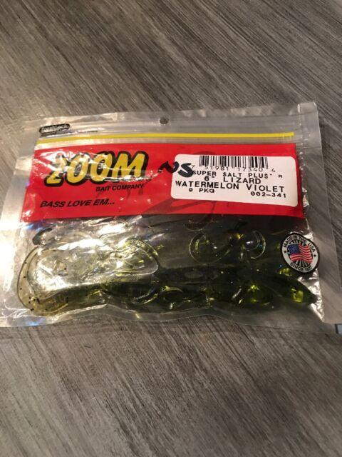 """Watermelon Violet 9 ct X2 Zoom Super Salt Plus 6/"""" Lizard"""