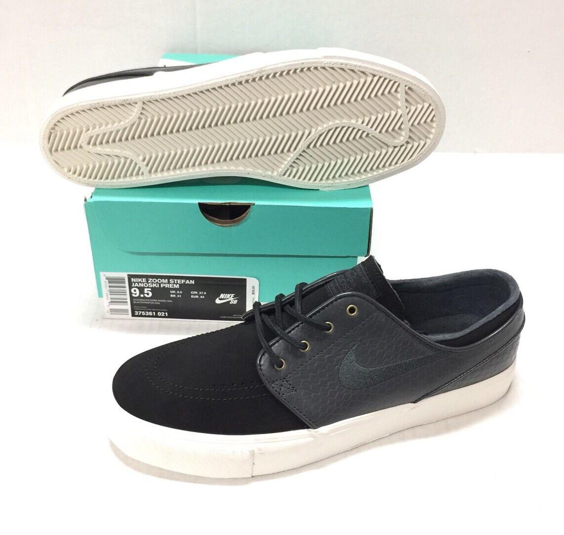 Wild casual shoes NIKE SB ZOOM STEFAN JANOSKI PREM ANTHRACITE DARK / RAISIN/ SAIL GREY
