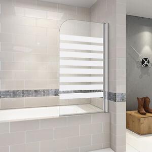 80x140cm badewannen faltwand dusche 6mm esg nano echtglas - Faltwand dusche ...