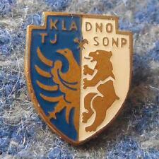 TJ SONP KLADNO VITKOVICE ICE HOCKEY FOOTBALL CZECHOSLOVAKIA 1960's ENAMEL PIN