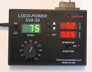 Model-Train-Power-Pack-with-Speedometer-Voltmeter-and-Ammeter
