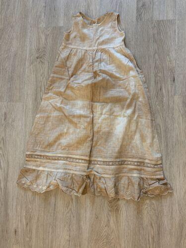Primitive Farm Girl Dress Late 1800's VINTAGE ANTI
