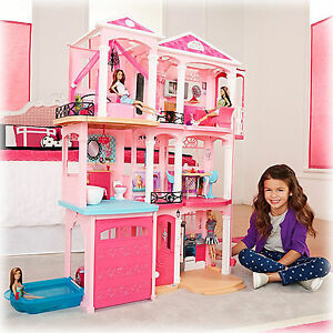 Barbie Dream House Doll Furniture 70 Accessories Elevator Kid