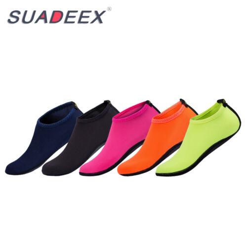 Mens Quick Dry Water Aqua Shoes Swim Surf Beach Pool Yoga Exercise Skin Socks