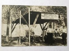 Real Photo Postcard RPPC DP Leffingwell Wagons Buggies Hit and Miss Gas Engine