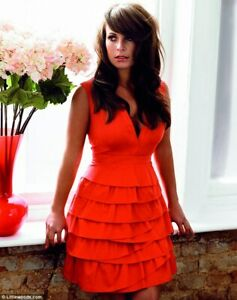 Coleen Rooney Fit & Flare Mini Red Dress Sz UK 12 Debut Collection 2011 NWT RARE